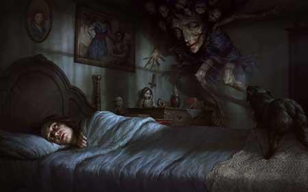Hal-hal Yang Takut Dilakukan Setelah Nonton Film Horor - Takut tidur sendirian