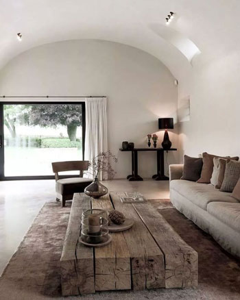 Inspirasi Desain Meja Ruang Tamu Minimalis