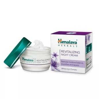 Krim Malam Terbaik Untuk Kulit Berminyak Dan - Himalaya Herbals Revitalizing Night Cream
