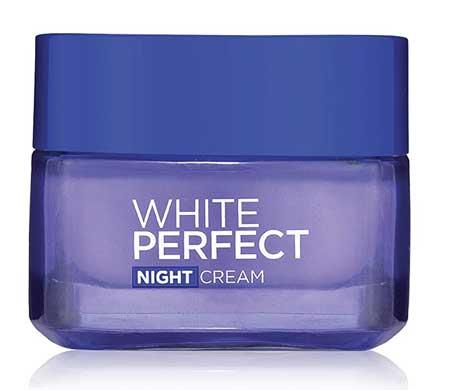 Krim Malam Terbaik Untuk Kulit Berminyak Dan - L'Oreal Paris White Perfect Fairness Night Cream