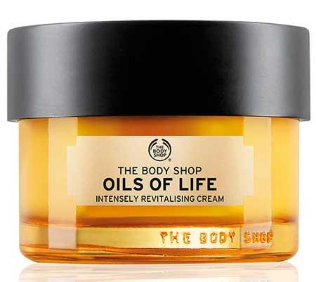 Krim Malam Terbaik Untuk Kulit Berminyak Dan - The Body Shop Oils of Life Sleeping Cream