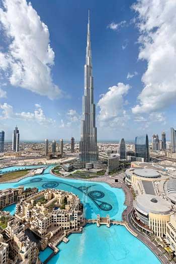 Landmark Terbaik Di Dunia - Burj Khalifa, Uni Emirat Arab