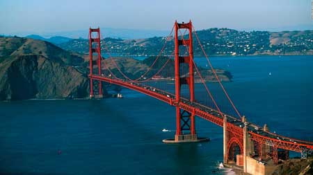 Landmark Terbaik Di Dunia - Golden Gate Bridge, San Fransisco