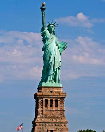 Landmark Terbaik Di Dunia - Patung Liberty, Amerika Serikat