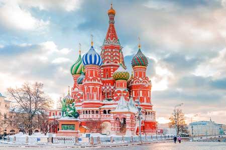 Landmark Terbaik Di Dunia - St. Basil's Cathedral, Moskow