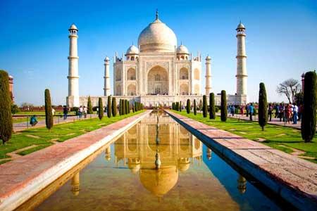 Landmark Terbaik Di Dunia - Taj Mahal, Agra