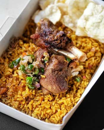 Makanan Timur Tengah Yang Ada Di Indonesia - Nasi Kebuli