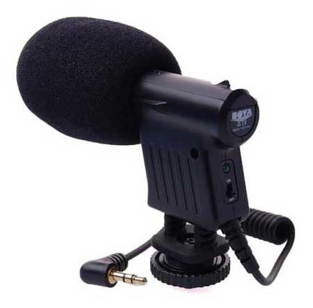 Microphone Untuk Youtuber Terbaik Dan Murah - Boya Mini BY-VM01