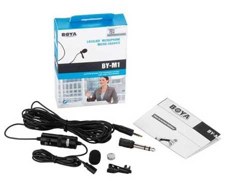 Microphone Untuk Youtuber Terbaik Dan Murah - Rajawali Clip-On Microphone BY-M1