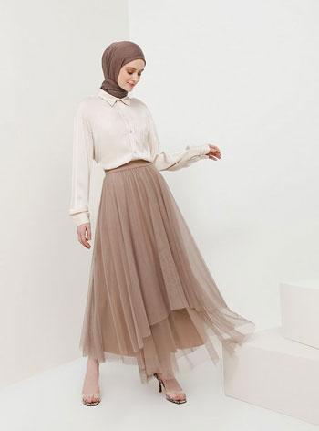 Inspirasi OOTD Hijab Rok Tutu Agar Tampil Stylish