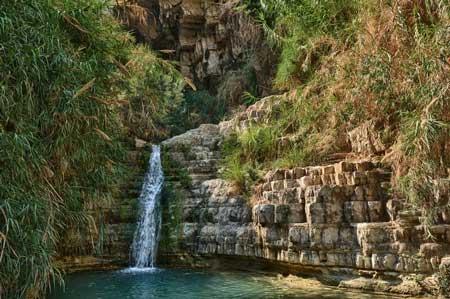 Oasis Terindah Di Dunia - Oasis Ein Gedi, Israel