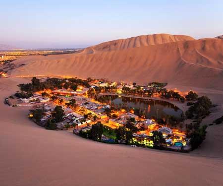 Oasis Terindah Di Dunia - Oasis Huacachina, Peru