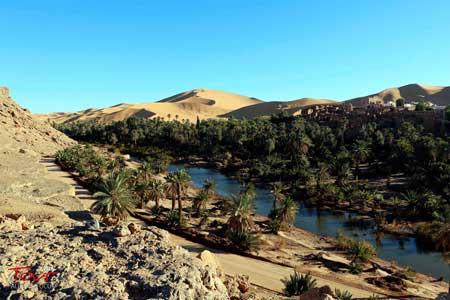 Oasis Terindah Di Dunia - Oasis Taghit, Algeria