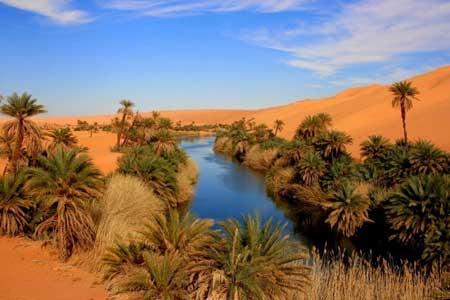 Oasis Terindah Di Dunia - Oasis Ubari, Libya