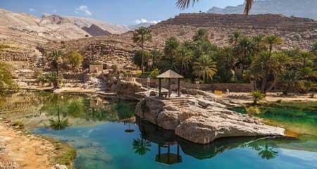 Oasis Terindah Di Dunia - Oasis Wadi Bani Khalid, Oman