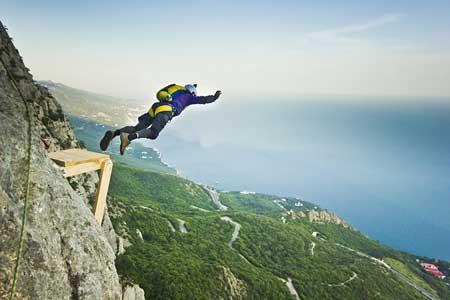 Olahraga Ekstrim Yang Paling Berbahaya - Base Jumping