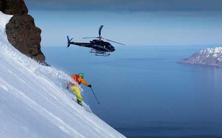Olahraga Ekstrim Yang Paling Berbahaya - Heli-Skiing