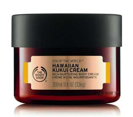 Produk The Body Shop Terbaik - The Body Shop Spa Of The World Hawaiian Kukui Cream