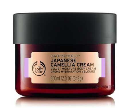 Produk The Body Shop Terbaik - The Body Shop Spa Of The World Japanese Camellia Cream