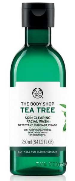 Produk The Body Shop Terbaik - The Body Shop Tea Tree Skin Clearing Facial Wash