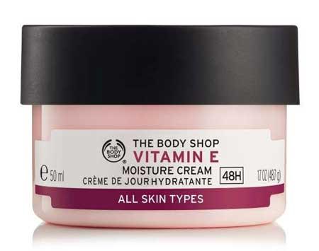 Produk The Body Shop Terbaik - The Body Shop Vitamin E Moisture Cream