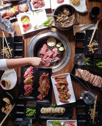 Rekomendasi Restoran All You Can Eat di Jakarta - Gyu Kaku