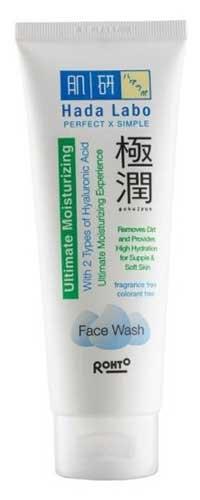 Skincare Untuk Kulit Kering - Hada Labo Gokujyun Moisturizing Face Wash