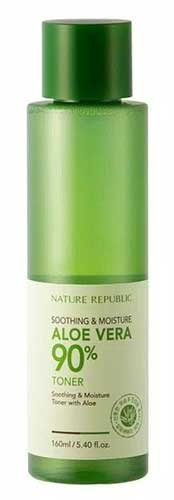 Skincare Untuk Kulit Kering - Nature Republic Aloe Vera 90% Toner