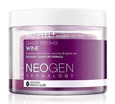 Skincare Untuk Kulit Kering - Neogen Dermalogy Bio-Peel Gauze Peeling Wine