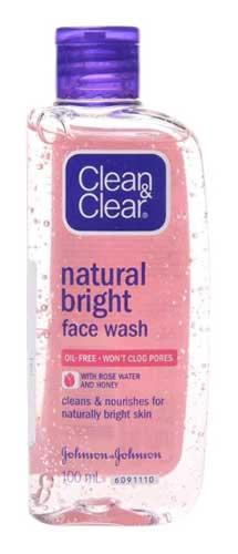 Skincare Untuk Remaja - Clean & Clear Natural Bright Face Wash