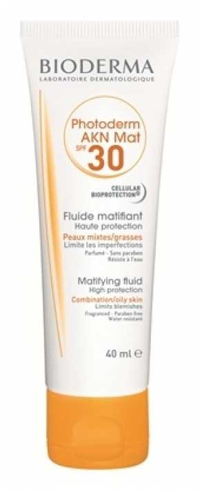 Sunscreen Untuk Kulit Berminyak Terbaik - Bioderma Photoderm AKN Mat SPF 30