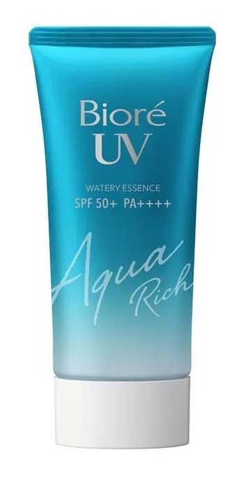 Sunscreen Untuk Kulit Berminyak Terbaik - Biore UV Aqua Rich Watery Essence