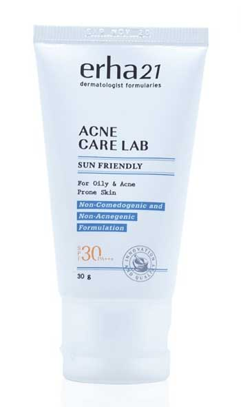 Sunscreen Untuk Kulit Berminyak Terbaik - Erha Acne Care Lab Acne Sun Friendly