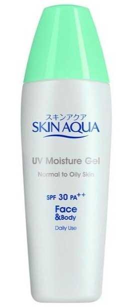 Sunscreen Untuk Kulit Berminyak Terbaik - Skin Aqua UV Moisture Gel