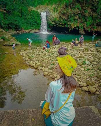 Tempat Wisata Di Purwokerto Terbaru Dan Paling Hits - Curug Bayan