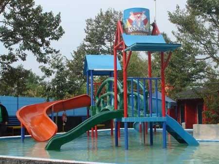 Tempat Wisata Di Purwokerto Terbaru Dan Paling Hits - Kebun Ku Water Park