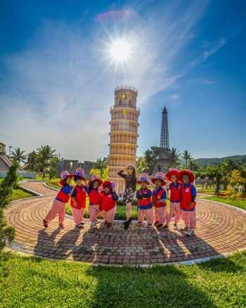 Tempat Wisata Di Purwokerto Terbaru Dan Paling Hits - Taman Miniatur Dunia (Small World)