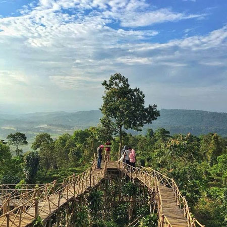 Tempat Wisata Purwakarta - Bukit Panenjoan