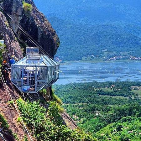 Tempat Wisata Purwakarta - Skylodge Padjajaran Anyar