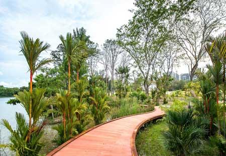 Tempat Wisata Singapura Terbaru 2020 Yang Lagi Hits - Jurong Lakeside Garden
