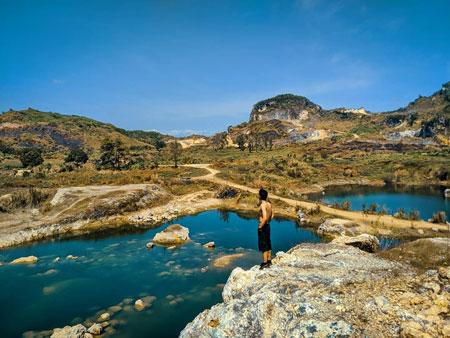 Tempat Wisata Tegal Terbaru Yang Menarik Untuk Dikunjungi - Danau Beko Margasari Tegal