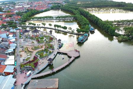 Tempat Wisata Tegal Terbaru Yang Menarik Untuk Dikunjungi - Taman Kampung Nelayan Tegalsari