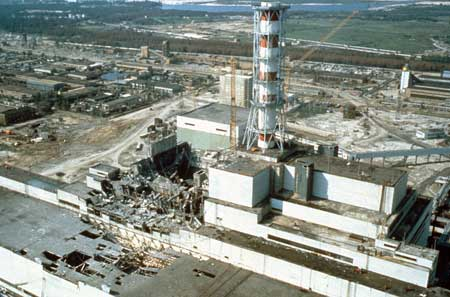 Tragedi Ledakan Terbesar Dan Terparah Di Dunia - Ledakan Chernobyl, Ukrania