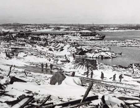 Tragedi Ledakan Terbesar Dan Terparah Di Dunia - Ledakan di Pelabuhan Halifax, Kanada
