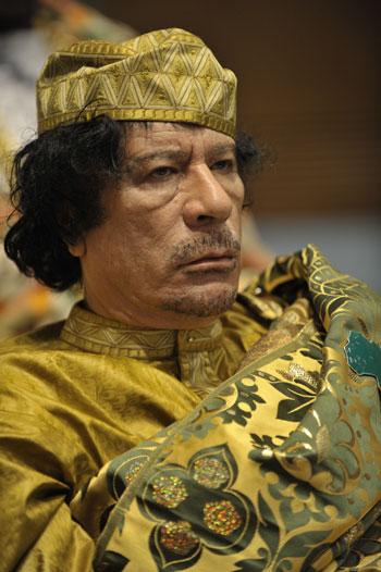 10 Orang Terkaya di Dunia Sepanjang Masa - Muammar Khadafi