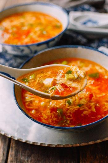 Aneka Resep Berbahan Dasar Telur - Resep Sup Telur Tomat