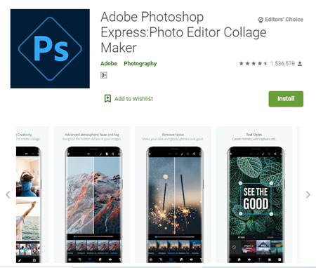 Aplikasi Pembuat Logo Terbaik di Android - Adobe Photoshop