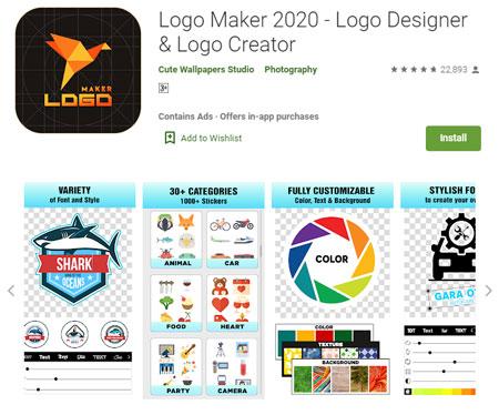 Aplikasi Pembuat Logo Terbaik di Android - Logo Maker 2020 - Logo Designer & Logo Creator