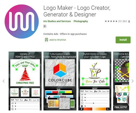 Aplikasi Pembuat Logo Terbaik Di Android Hasilnya Keren Abis Blog Unik