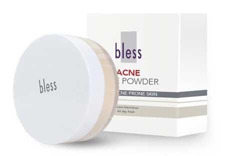 Bedak Untuk Kulit Sensitif - Bless Acne Face Powder